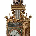 Rare antique Chinese <b>animated</b> triple fusee bracket clock soars to $1.27 million at Fontaine's