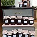 confiture framboises-rhubarbe - www.passionpotager.canalblog.com