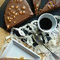 Tarte aux deux chocolats (et aux noisettes)...