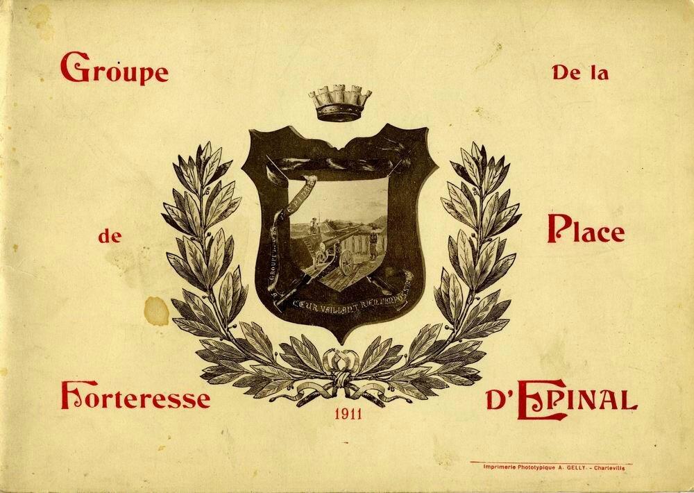 Groupe de forteresse de la place d'Epinal (1911)