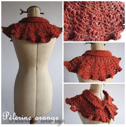 pèlerine orange2