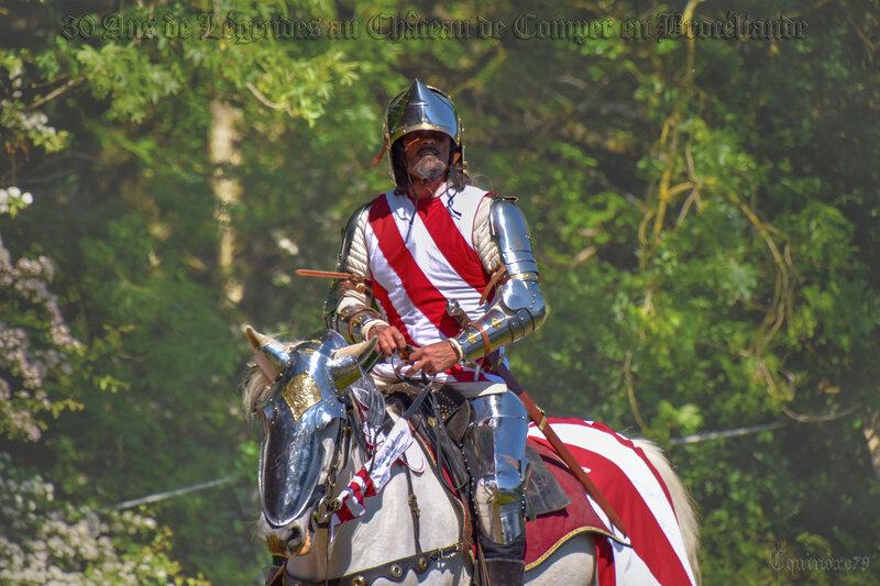 L'apparition du Graal aux chevaliers de la Table ronde Lancelot du Lac (2)