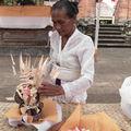 Préparation de cérémonie