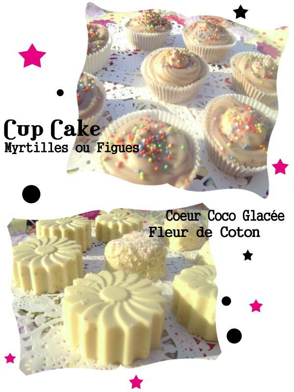 Savon cup cake