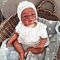 bébé reborn métisse - Maïna ( adoptée)
