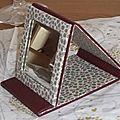 Miroir de sac de Maryline G