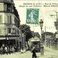 Angle rue villeneuve et quai voltaire