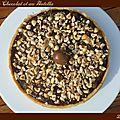 Tarte au chocolat et au nutella2