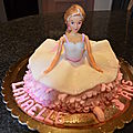 Gâteau 3 d d'anniversaire