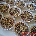 Mi-mini tarte chocolat-caramel