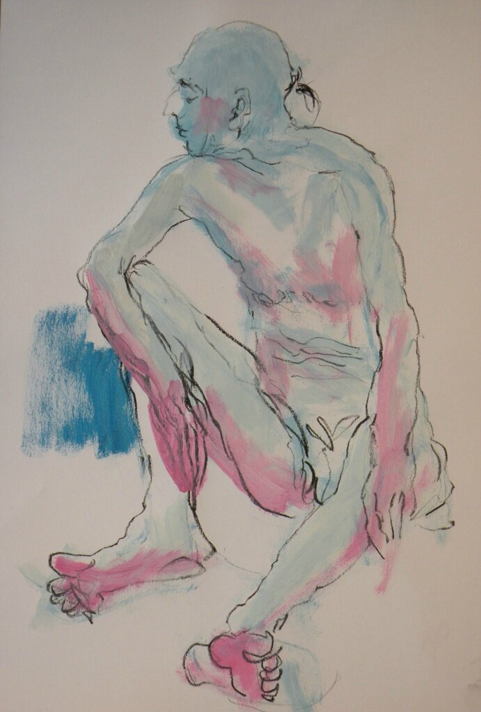 Dessin et peinture de nus- Jean Jacques 05 12 13 (20)