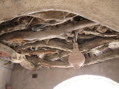 Ksar Hadada - plafond