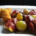 Aiguillettes de canard mi-figue, mi-raisin