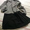 La petite jupe noire...
