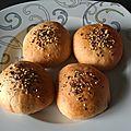 Petits pains farcis au thon