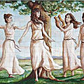 GRIFFONNADE 306 : Les neuf Muses de la mythologie grecque
