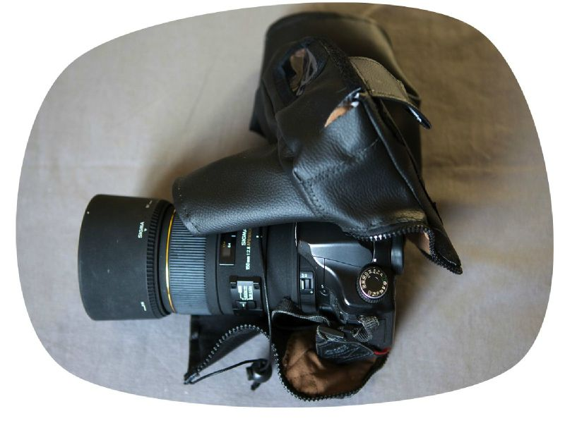 Housse de camouflage pour appareil photo