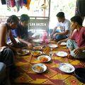 déjeuner avec mes amis