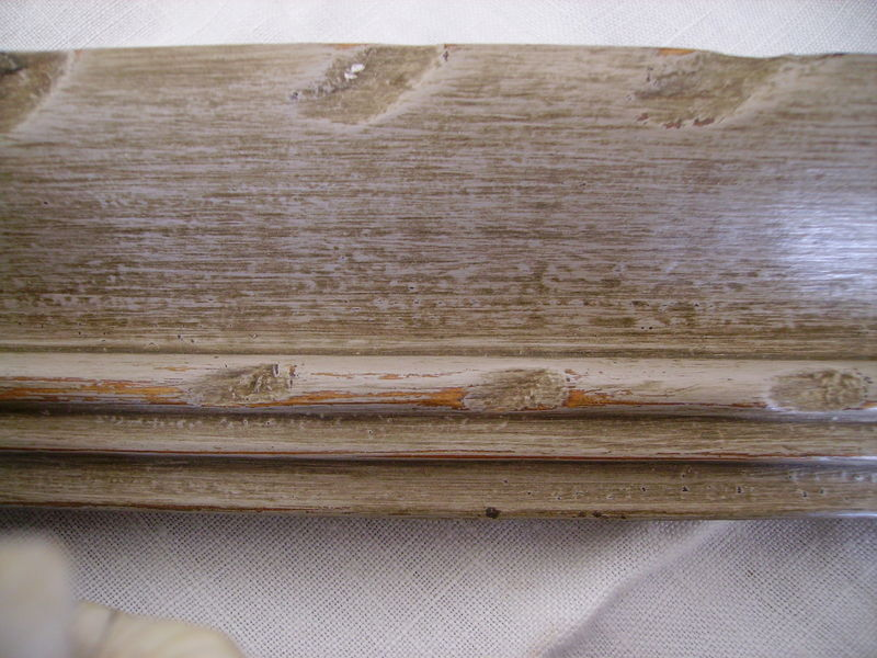 cadre patine marron 2