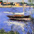 Gustave Caillebotte, bateau à l'ancre...