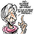 Lagarde will come to you !