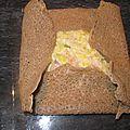 Galette de fondue de poireaux au saumon