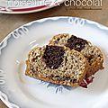 Cake marbré noisettine & chocolat de ph.conticini