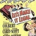 Les affiches de lets make it legal