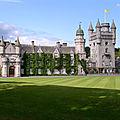 Chateau de balmoral - ecosse - royaume-uni