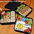 Lunchbox/bento #31 xl de la mer