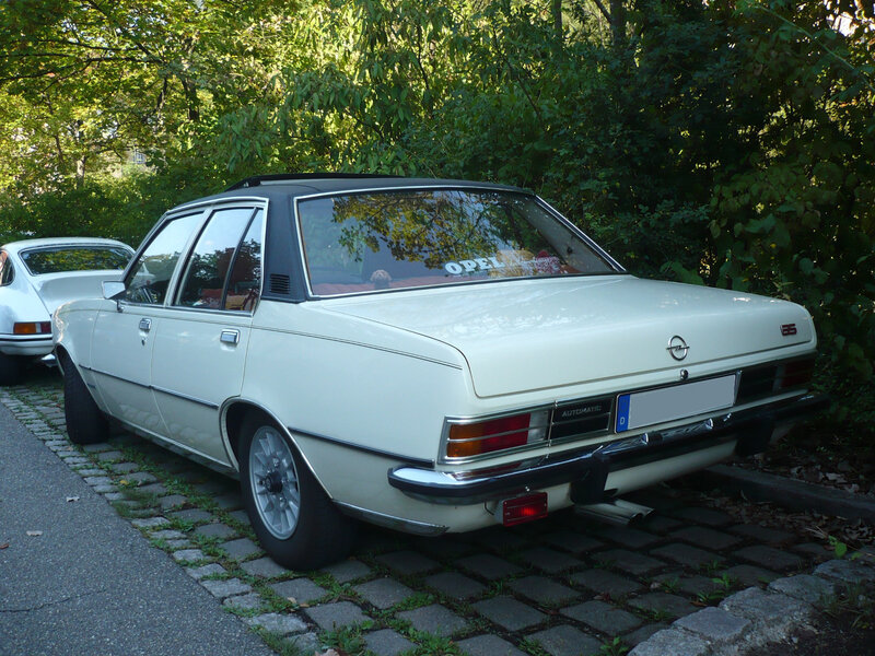 OPEL Commodore B 2500 GS automatic 1973 Schramberg (2)