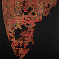 Samitum-woven silk textile with an enthroned Sasanian king, Iran or Central Asia, 7th-<b>8th</b> <b>century</b>