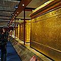22- les 3 chapelles dorees exposees de la plus grande a la plus petite..