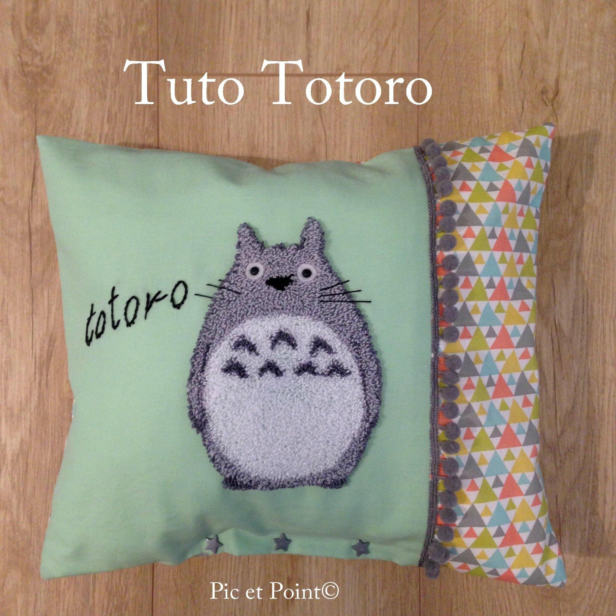 Tuto Totoro Punch Needle ...
