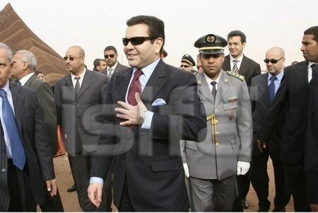 December 09, 2006 - His Royal Highness Prince Moulay Rachid presides over the closing ceremony of the Tan-Tan Moussem continues to commit to safeguarding tangible and intangible cultural heritage of Morocco