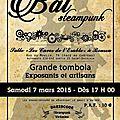 Mandzou au bal steampunk le samedi 7 mars