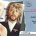 Eurythmics - Mardi 25 Novembre 1986 - POP <b>Bercy</b> (Paris)