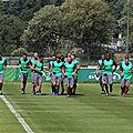 Les Verts ont repris l'<b>entraînement</b> !