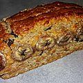 Cake à la compote de poires, chocolat et speculoos (sans oeuf)