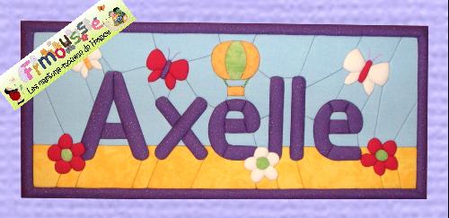 Carton-mousse Axelle 2