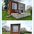 Une <b>Tiny</b> House au Parc Saint Symphorien des Monts (Normandie)