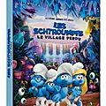 Les schtroumpfs et le village perdu/ les as de la jungle: les petits hommes bleus l'emportent par ko..
