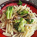 Pâte aux brocolis et parmesan