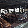 constructeur de canoé de pêcheur du secteur