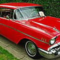 <b>V8</b> <b>Brothers</b>' Summer Meeting #5 - '57 Bel-Air 4-Door & Coupe