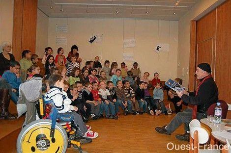 Médiathèque bellevue Brest Décembre 2008
