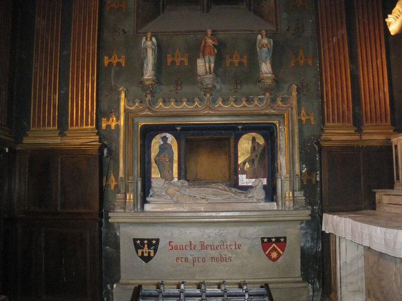 gisant de st Bénézet