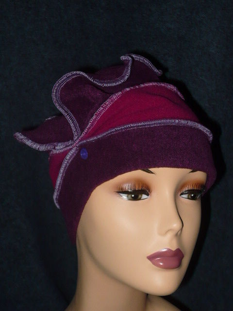 Toque prune fuschia 2 custos (2)
