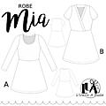 <b>Robe</b> Mia de chez L'Usine A Bulle