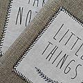 Carnets de notes en lin